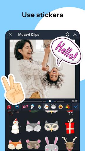 Movavi Clips - Video Editor with Slideshows apktram screenshots 8