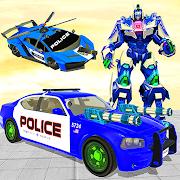 US Police Car Robot Transformation: Robot Strike