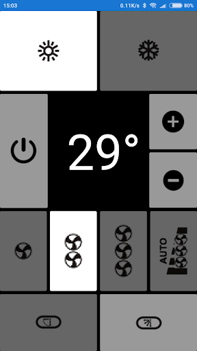 Electra AC Remote, as seen in picture! NO settings  Screenshots 6