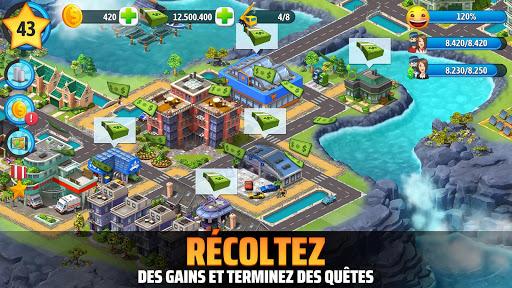 Code Triche City Island 5 - Simul. de construction hors ligne mod apk screenshots 4
