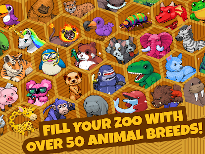 Idle Tap Zoo: Tap, Build & Upgrade a Custom Zoo Screenshot