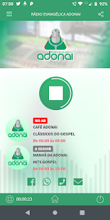 Download Rádio Evangélica Adonai For PC Windows and Mac apk screenshot 1