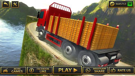 Uphill Gold Transporter Truck Drive apkdebit screenshots 15