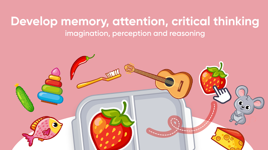 Brainy Kids: educational games for 2-3 year olds