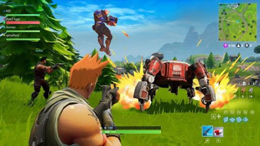 Mr FightNight Battle Royal Shooter  Screenshots 2