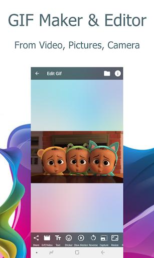 Video2me: Video and GIF Editor, Converter 1.7.2.1 Screenshots 1