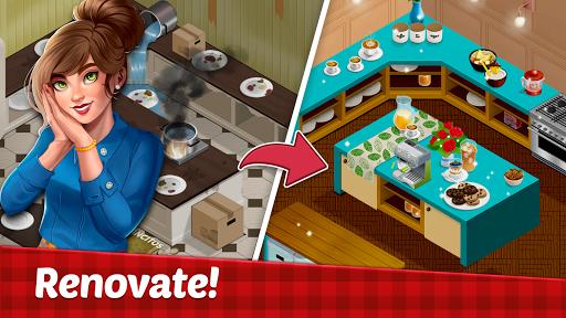 Fancy Cafe Mansion - Restaurant renovation games  screenshots 3