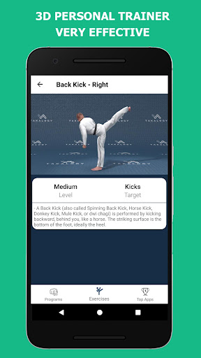 Mastering Taekwondo - Get Black Belt at Home 1.1.8 Screenshots 5