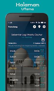 Jadwal Sholat, Kiblat dan Adzan 1.6.7 screenshots 1