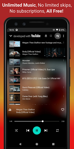 Video, Download, Music Free Player, MP3 Downloader  screenshots 3