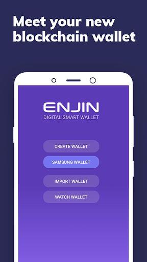 Enjin: Bitcoin, Ethereum, Blockchain Crypto Wallet 1.11.1-r Screenshots 1