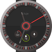 Pujie Red - Wear Watch Face