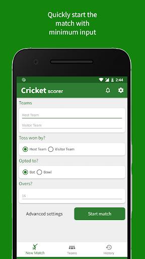 Cricket Scorer 2.9.0 Screenshots 1