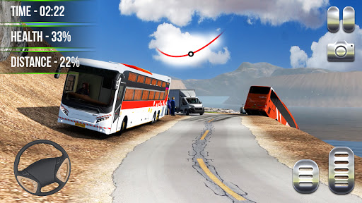 Heavy Bus Simulator 2021:Offroad Cargo Bus Drive  screenshots 12