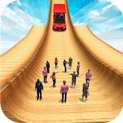 Biggest Mega Ramp With Friends - Car Games 3D