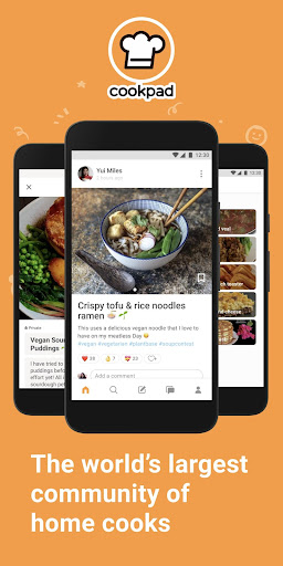 Cookpad App Free Download – Create your own Recipes