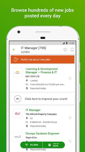Totaljobs - Search for the top UK jobs online apktram screenshots 2
