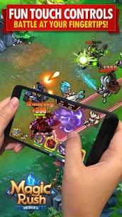 Magic Rush: Heroes Mod 1.1.301 Apk [Unlimited Money] 1