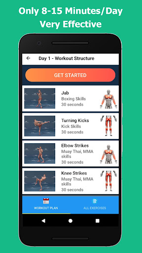 Kickboxing - Fitness and Self Defense 1.2.4 Screenshots 5