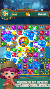 Jewels fantasy: Easy and funny puzzle game 1.7.2 Apk + Mod 3
