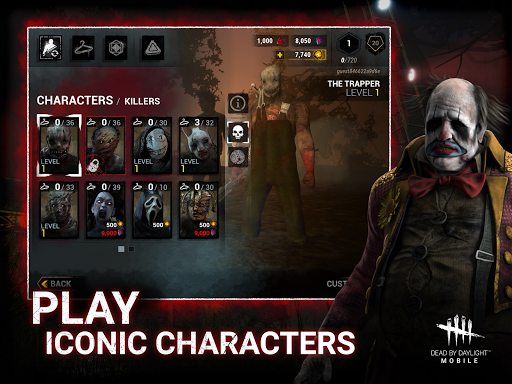 Dead by Daylight Mobile - Multiplayer Horror Game apkmr screenshots 9