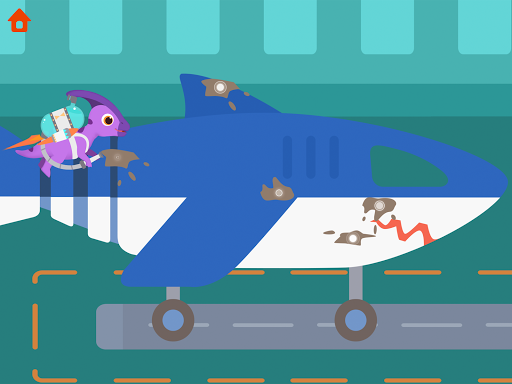 Dinosaur Airport - Flight simulator Games for kids  screenshots 12