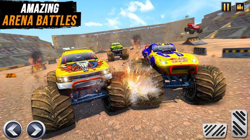Real Monster Truck Demolition Derby Crash Stunts  Screenshots 2