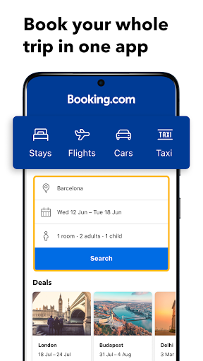 Download Booking.com: Hotels, Apartments & Accommodation mod apk