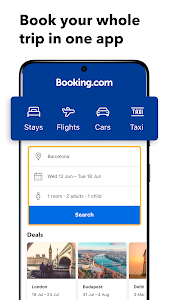 Booking.com: Hotels and more 27.8