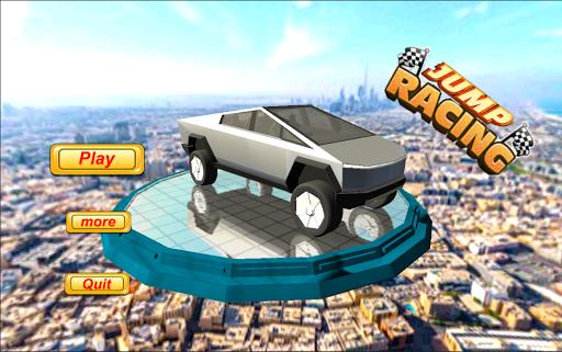 cyber truck jump adventure screenshot 1