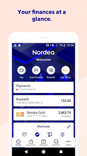 Nordea Mobile - Finland  screenshots 1