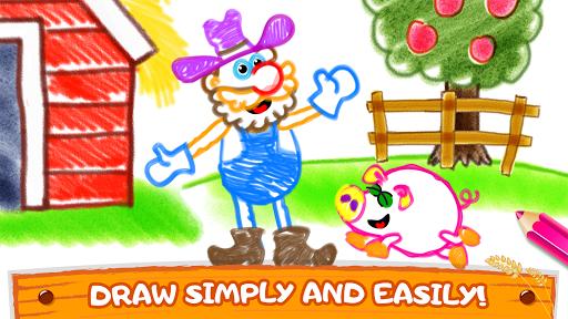 Old Macdonald had a farm ud83dude9c Drawing games for kids  Screenshots 5