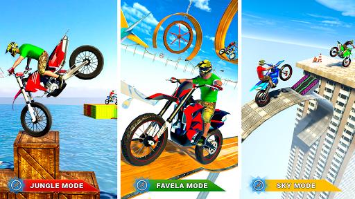 Stunt Bike 3D Race - Tricky Bike Master 1.4 screenshots 17