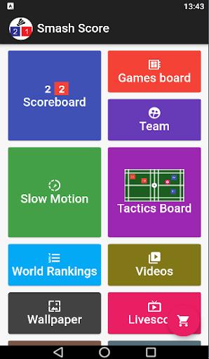 Badminton Score Latest screenshots 1