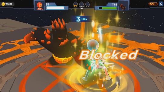 Supreme Saberman: Stickman Fight Space Invaders 8