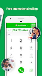Free Call : Call Free  & Free Text 1.9.1 Mod APK (Unlimited) 3