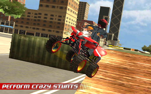 ATV Quad City Bike: Stunt Racing Game 1.0 screenshots 8