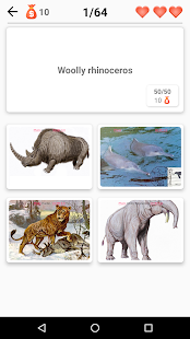 Extinct animals, endangered species! Rare animals