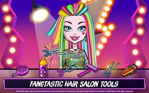 Monster Highu2122 Beauty Shop: Fangtastic Fashion Game  Screenshots 4