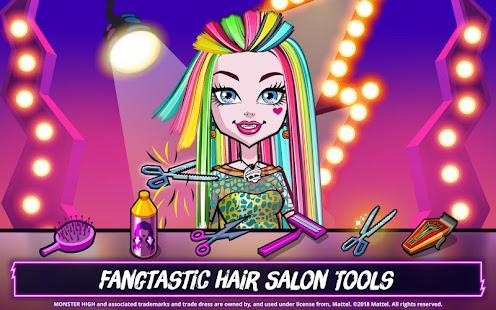 Monster Highu2122 Beauty Shop: Fangtastic Fashion Game 4.1.14 Screenshots 4