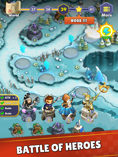 Mini War:Idle Tower Defense Varies with device screenshots 19