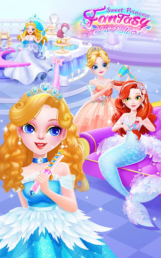 Sweet Princess Fantasy Hair Salon 1.0.7 screenshots 1