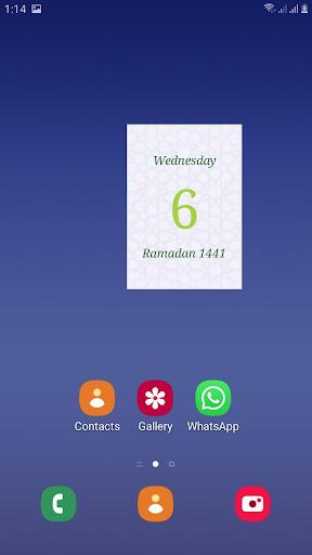 Hijri calendar (Islamic Date) and Moon finder 4.2 Screenshots 6