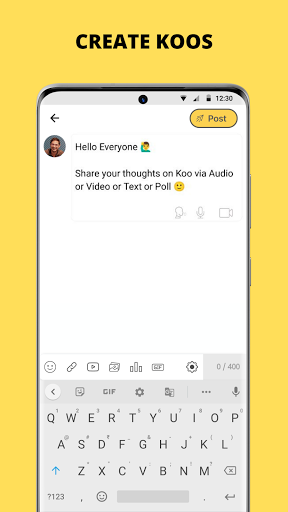 Koo: Connect with People!  screenshots 5