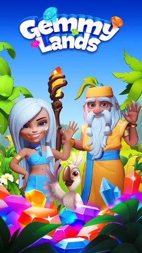 Gemmy Lands: New Match 3 Games 2021 to Crush Gems  Screenshots 8