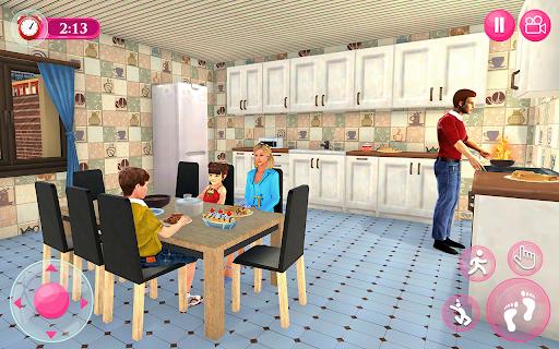 Virtual Family - Happy Life Dad Mom Simulator 2021 apktram screenshots 6