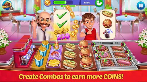restaurant master : kitchen chef cooking game screenshot 1