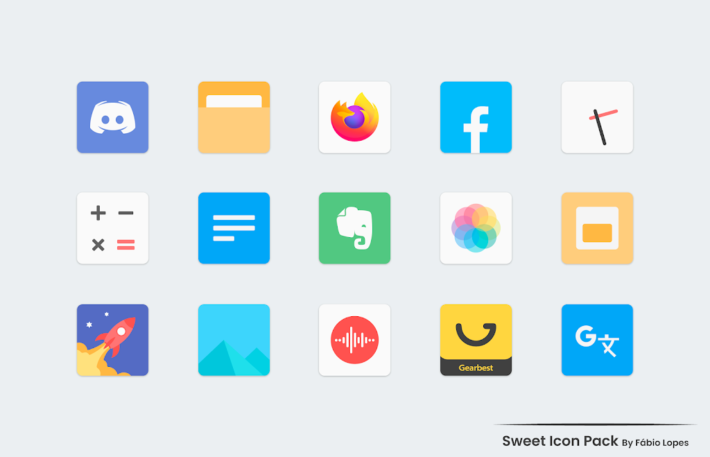 Sweet - Icon Pack  poster 3