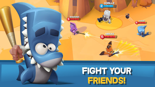 Zooba: Free-for-all Zoo Combat Battle Royale Games apkpoly screenshots 3