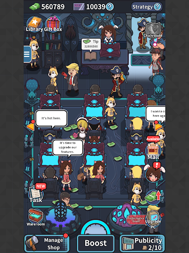 Gamer Cafe 1.0.4 screenshots 18